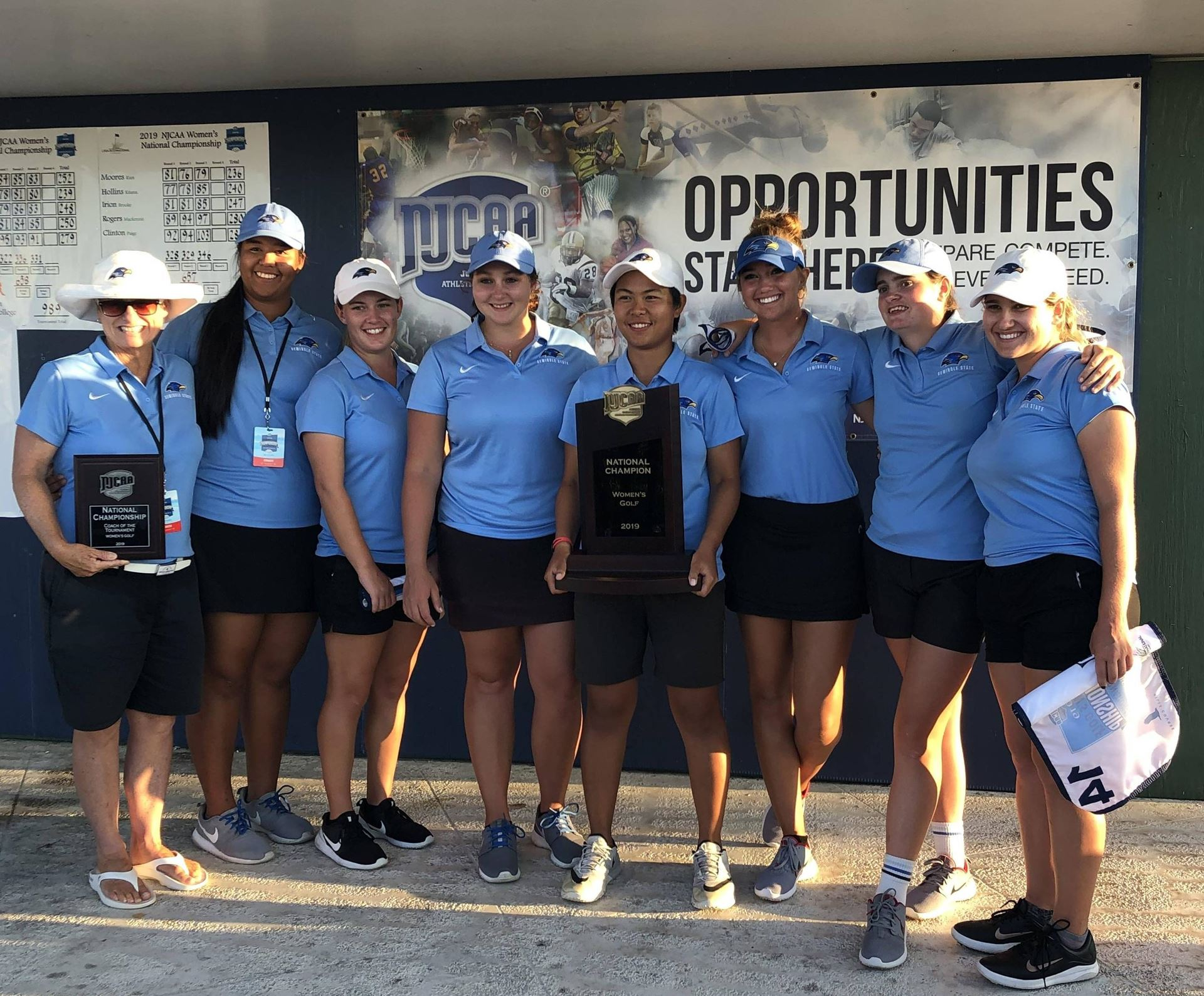 Seminole State College of Florida Women - 2019 NJCAA D-I Champion